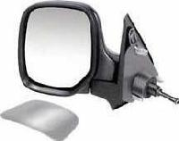 Citroen Berlingo Van [96-08] Complete Cable Adjust Wing Mirror Unit - Primed